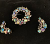Women's Pin and earrings Woodbridge, 22192