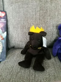 black and red TY Beanie Baby bear plush toy East Haven, 06512