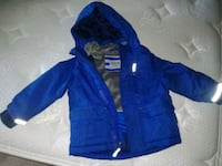 Size 2 winter jacket and thick hoodie Brampton, L6X 0P7