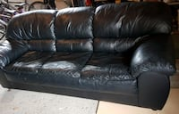 Leather Couch - three seater Mississauga