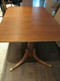 150-year-old dining room table and 6 chairs Vaughan, L4H 4L6