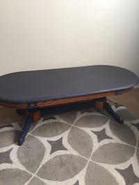 1970's Retro Coffee Table chalked and waxed/ solid oak Bakersfield, 93308
