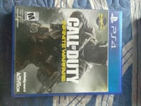 Call of Duty Infinite Warfare PS4 game case Los Angeles, 90003