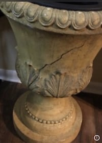 2 Outdoor Indoor 2.5 ft wide x 3 ft tall Urns