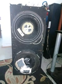 2 12in 1000W Subs And Amp Newport News, 23607