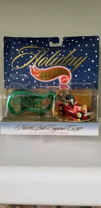 Holiday hot wheels Mattel collectible 1of4 Manassas, 20109