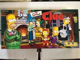 Simpsons Clue