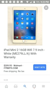 ✓ Apple Ipad Mini 2 + USB + Case Pensacola, 32506