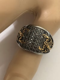 Scorpio men ring in stainless steel size 9.5  Fort Lauderdale