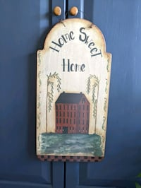 Home Sweet Home wooden decor