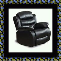 Black recliner chair Seat Pleasant, 20743