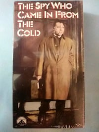 The Spy Who Came In From The Cold vhs