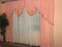 Elegant window curtain. Alexandria, 22310