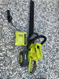 RYOBI 24 in. 40-Volt Lithium-Ion Cordless Hedge Trimmer - 2.6 Ah Battery and Charger Included Hesperia, 92345