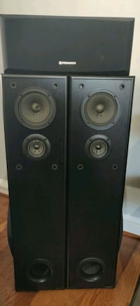 black and gray speaker system Elkridge, 21075