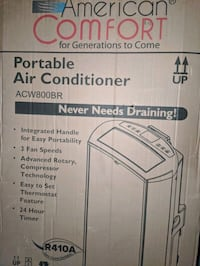 Home comfort portable Air conditioner