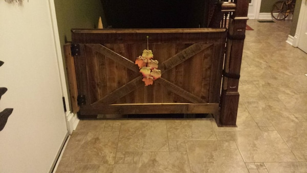 Baby gate - Custom and Rustic