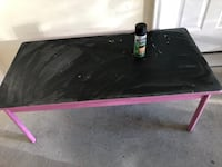 Lakeshore kids table turned into chalkboard table. Will also include full can of  chalkboard spray paint. No holds fcfs Jacksonville, 28543