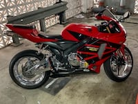 Red and black sports bike 2006 Honda cbr 600rr Silver Spring, 20910