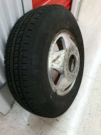 BFGOODRICH COMMERCIAL A/S TIRE AND 16 INCH 8 LUG W Dearborn Heights