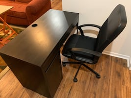 Desk and Ofiice Chair