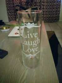 live laugh love printed drinking glass Fayetteville, 72703