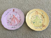 pink and yellow ceramic decorative plates Germantown, 20874