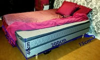 Twin-size Mattress and Box spring--NEW!!