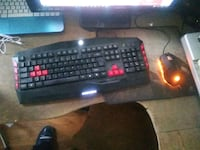 Cyberpower gaming usb keyboard and mouse