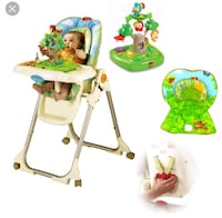 Fisher price high chair Toronto, M2P 1W8