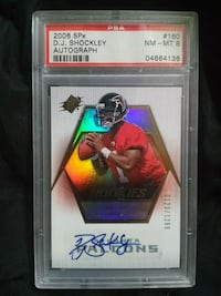 Dj Shockley rookie autograph Hamilton, L8L 3Y9