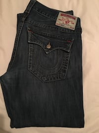 "Men's True Religion jeans size 36 length 44.5"" Toronto, M5N 1C5"