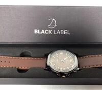 Black Label Voyager Watch Brown Strap Men's Gunmetal No Box Ashburn, 20147
