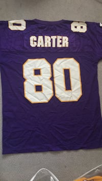 Minnesota Vikings Jersey - 80 Cris Carter (Hall of Fame) Menifee, 92584