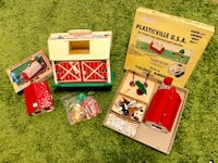Vintage Fisher Price and Plasticville farm toys! Cheverly, 20785