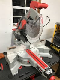"Milwaukee 12"" Coumpound sliding miter saw"