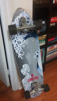 Carver white and blue great wave long board Toronto, M1P 1X8