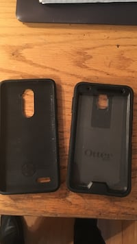 Two black otter box cases iPhone plus  Clifton, 07012
