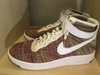 Nike Flynit Air Force 1 size 10