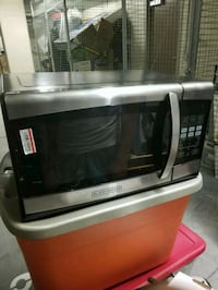 gray and black microwave oven 28 km