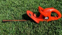 Black & Decker corded electric 17-in hedge trimmer Charlotte, 28215