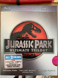 Jurassic trilogy blue ray collection  Las Vegas, 89141