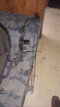 brown and black compound bow Gosport, 47433