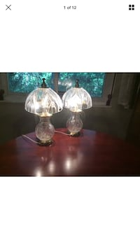 A pair of crystal lamps. Poland. Parma, 44134