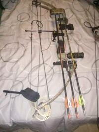 two black and gray fishing rods Hanover, 21076