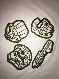 Lootcrate Exclusive Halo Cookie Cutters Pearl City, 96782