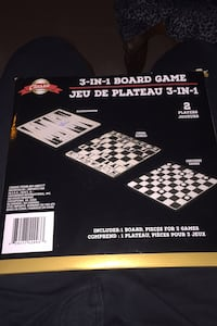 3 in 1 chess checkers backgammon