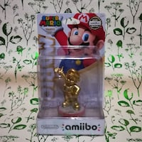New Gold Mario amiibo