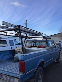 Ladder rack full size truck adjustable heavy duty
