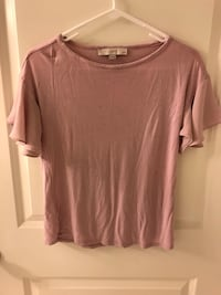 LOFT blouse, blush, XXSP Washington, 20001